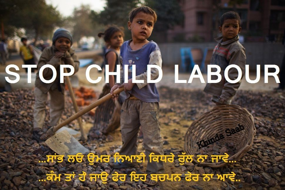 an essay child labour in india